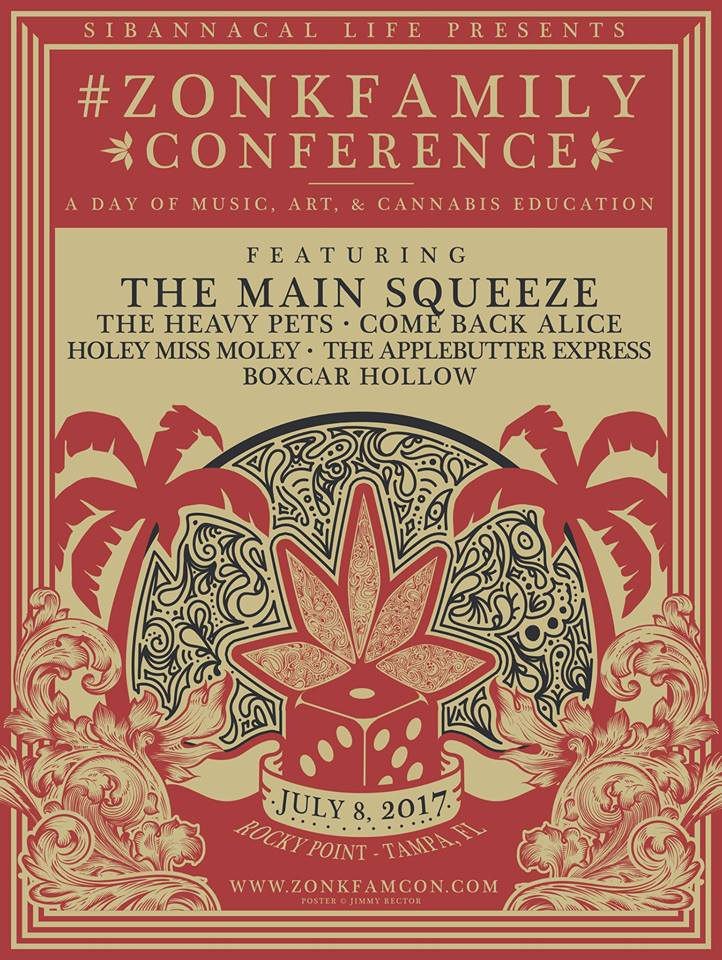 Cannabis Awareness Festival, Zonk Family Conference, in Tampa by Game Maker Zonk, to Attract 10,000 or more