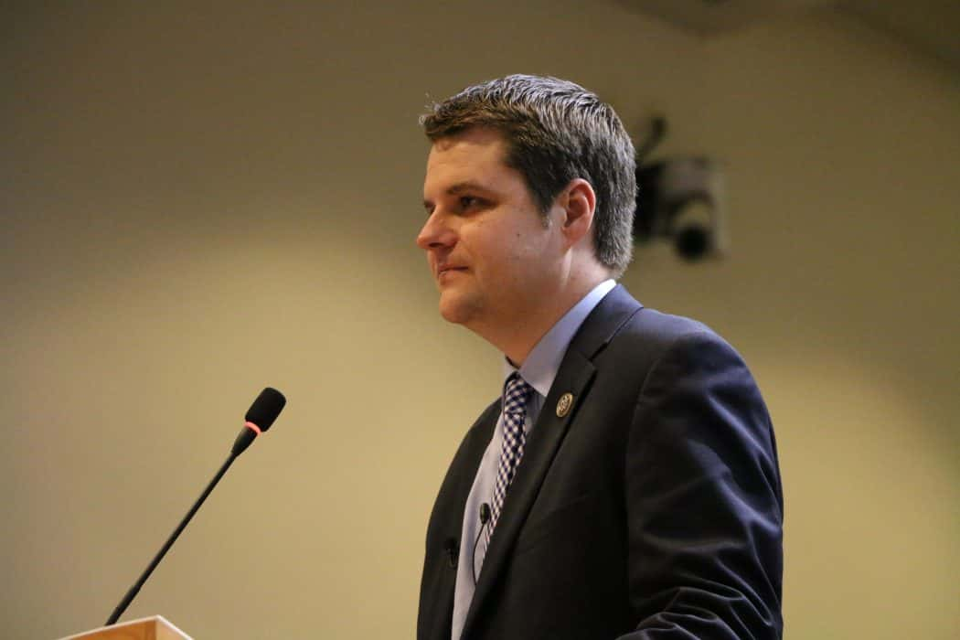 Breast Cancer Awareness; Florida Congressman Matt Gaetz Pushes for Rescheduling Marijuana